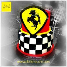 Formula 1 Ferrari Cake