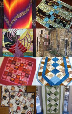 Warm Quilts for a Blustry Wintry Day  by JDCreativeHands on Etsy--Pinned with TreasuryPin.com