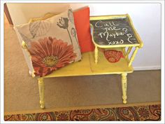 Quirky Cool...: Upcycled Telephone Desk