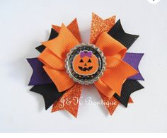 Your place to buy and sell all things handmade Birthday Hair, Gold Birthday, Halloween Hair Bows, Glitter Hair, Big Bows, Girls Bows, Girls Accessories, Fall Hair, Girl Gifts