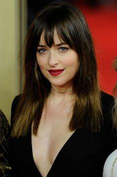 Makeup & Hair Ideas: Tapis rouge glamour pour 50 Nuances de Grey