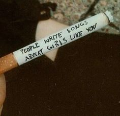 Imagen de cigarette, grunge, and quote