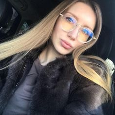 9929ba4cb2de Buy Round Glasses Women Transparent Clear Fashion Decorative No Degree Lens  Big Armacao De Computer Eyeglasses Frames For Female