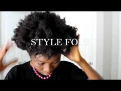 4 EASY HAIR STYLES FOR SHORT NATURAL HAIR 4B/4C HAIR- BAD HAIRDAY FIX - YouTube