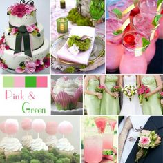 Lovely Pink & Green