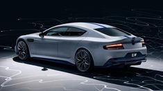 Aston martin rapide e electric sport sedan debuts at 2019 shanghai Aston Martin Rapide, New Aston Martin, Aston Martin Cars, Aston Martin Vanquish, Aston Martin Vantage, Electric Sports Car, E Electric, Electric Vehicle, Nissan 370z
