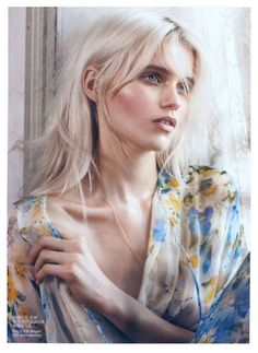 Abbey Lee Kershaw Stars in the Vogue China May 2012 Issue