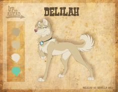 Delilah - Character Sheet by Skailla.deviantart.com on @deviantART