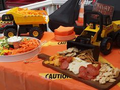 construction themed birthday party | Upon the Hill...: First Birthday Party Construction Theme