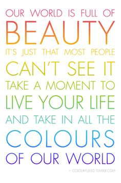 Colour Life Quotes 60 Best Color Quotes And Sayings
