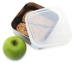 U Konserve stainless steel food container is BPA free, lead free, PVC free and phthalate free. U Konserve To Go container. Plastic Containers, Food Storage Containers, Stainless Steel Containers, Container Size, Salad Bar, Bento Box, Food Grade, Medium, Lunches