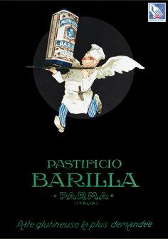 Nel 1926 arriva un nuovo personaggio sulla tavola degli italiani: Il cuoco volante #Barilla protagonista di calendari e quaderni