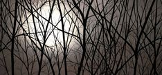 Jet dencre grand paysage tendu et prêt à suspendre par PaintAddict
