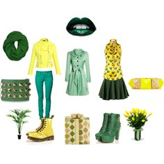 """""""Green Society"""" by menrikanow on Polyvore"""