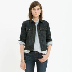The Jean Jacket in Rebel Wash