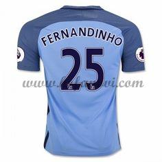 Manchester City Nogometni Dresovi 2016-17 Fernandinho 25 Domaći Dres Komplet