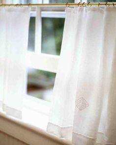 22 Besten Küchengardinen Bilder Auf Pinterest Curtains Window