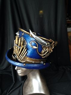 Captain Nemo grand top hat complete with giant squid and pipe organ #custom #steampunk