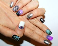 Japanese SpringFalse nails set of 28 by LaurasPills on Etsy, $19.50