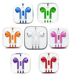iPhone Colorful Earphones