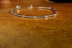 #GIVEAWAY: This 14kt white gold strait line bracelet with #diamonds is up for grabs! Learn how to enter to win on our Facebook Page!