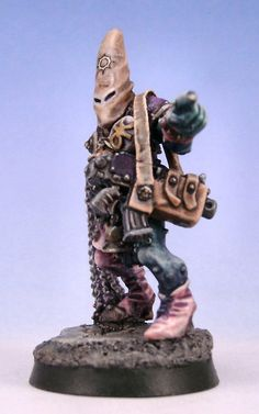 Chaos Champion I spotted on the Bolter and Chainsword.