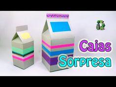 198. Manualidades: Como hacer cajas sorpresa de cumpleaños (Reciclaje) E...