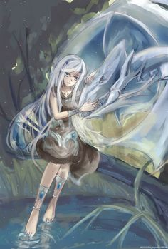 Kisara and the Blue Eyes