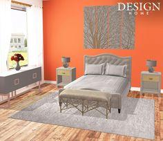 Oranje-slaapkamer-westwing | slaapkamer | Pinterest | Om