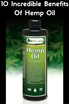 @proulxjustice 10 Incredible Benefits Of Hemp Oil