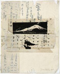 Mt. Fuji #9  <br/>11.75x9.25 inches