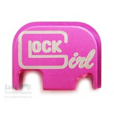 RockYourGlock Pink Graphic Slide Cover Plate