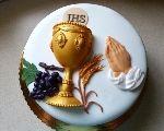 dar kňazovi na PSP First Communion Cakes, First Holy Communion, Comunion Cakes, Bible Cake, Fondant, Love Cake, Psp, Oreos, Pavlova