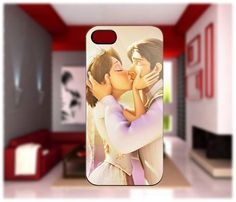 Kiss of Rapunzel and Flynn Tangled iPhone cases 4/4S Case iPhone 5 Case Samsung Galaxy S2/S3/S4 Cases Blackberry Z10 Case from GlobalMarket