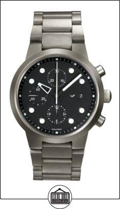 Ventura VM30T - Reloj analógico de cuarzo para hombre, correa de titanio color gris  ✿ Relojes para hombre - (Lujo) ✿