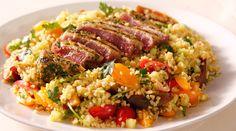 Savour this quick and easy tuna salad recipe by Siba Mtongana from Siba