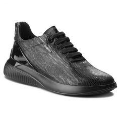 b23e448aa87867 Sneakersy GEOX - D Theragon C D828SC 09DHH C9999 Black - Sneakersy -  Półbuty - Damskie