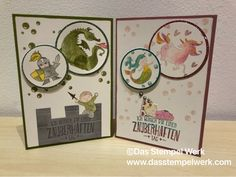 Enchanting Day, Stampin Up, Delicate Plum, Olive, Moon Baby,