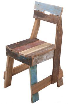 Scrapwood chair by Piet Hein Eek