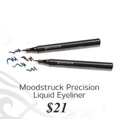 Check out the new Younique liquid eyeliners!!! Perfect for your winged look! Www.YouniqueProducts.com/kassiesmithey