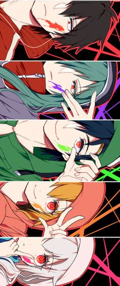Shintaro, Kido, Seto, Momo and Marry!
