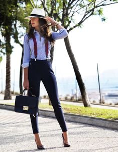 I will wear high-wasted pants if I get to wear suspenders too. :)