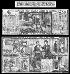 "Illustrated Police News ""Crimes of Whitechapel"""