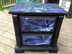 Unicorn spit night stand (not done by me)