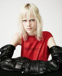 """Raf to The Future"" | Marjan Jonkman by Steven Yatsko for Models.com November 2015"