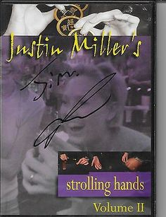 Justin Millers strolling hands vol. 2 DVD Autographed Kozmo Magic tricks Collectibles:Fantasy, Mythical & Magic:Magic:Tricks www.webrummage.com $29.99