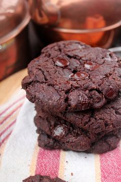 chocolate sriracha cookies