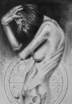 Anorexia Nervosa / pencil. © David Leitner 2011 follow my 275 days of productivity/creativity-experiment: http://www.275days.tumblr.com  follow me on facebook:http://www.facebook.com/DavidLeitnerArt follow me on deviantart: http://epilic.deviantart.com follow me on cargo:http://cargocollective.com/DavidLeitner