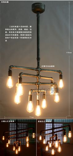 Aliexpress.com : Buy Free shipping Edison vintage chandelier creative new wire / DIY chandelier The kit braided copper wire and copper lampholder from Reliable copper wire color suppliers on Focus On Edison Bulb .