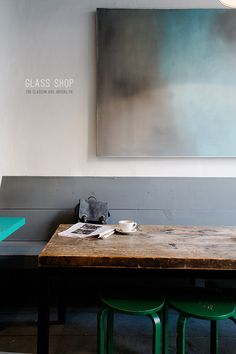 Glass Shop cafe, Brooklyn - photo by Alice Gao @ lingered upon